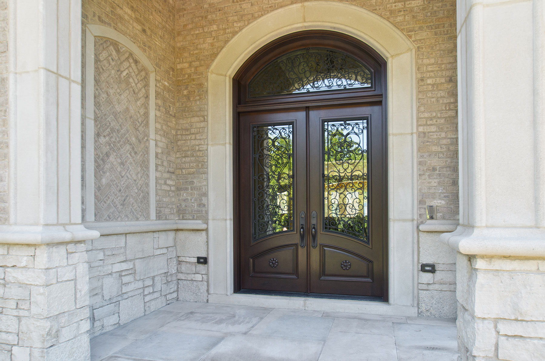 Glenview haus custom front door design a growing trend in for Custom exterior doors
