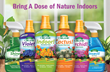 It's easy to garden organically indoors 365 days a year with The Espoma Company's new line of liquid indoor plant foods.