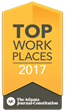 Smith & Howard Named Winner of 2017 Top Workplace Award by the Atlanta Journal-Constitution