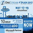 OneStream Software's 2017 Splash User Conference and Partner Summit Keynote to Feature CFO of Microsoft Americas