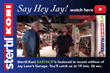 'Jay Leno's Garage' Showcases Stertil-Koni EARTHLIFT Mobile Columns
