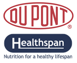 DuPont and Healthspan Logos