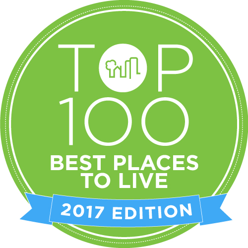 Top 100 best places to live in the united states announced for Top us cities to live in 2017
