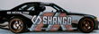The Danny George Shango Premium Cannabis Branded BMW M3
