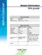 Moisture Analysis Library