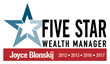 The Five Star Wealth Manager award program is the largest and most widely published wealth manager award program in the financial services industry.