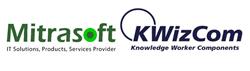 KWizCom and Mitrasoft logos
