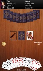 Gin Rummy By Tesseract Mobile Celebrates 6 Years And 4.5 Million Downloads