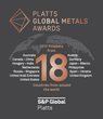 GSI Exchange Selected as Finalist for 2017 Platts Global Metals Awards