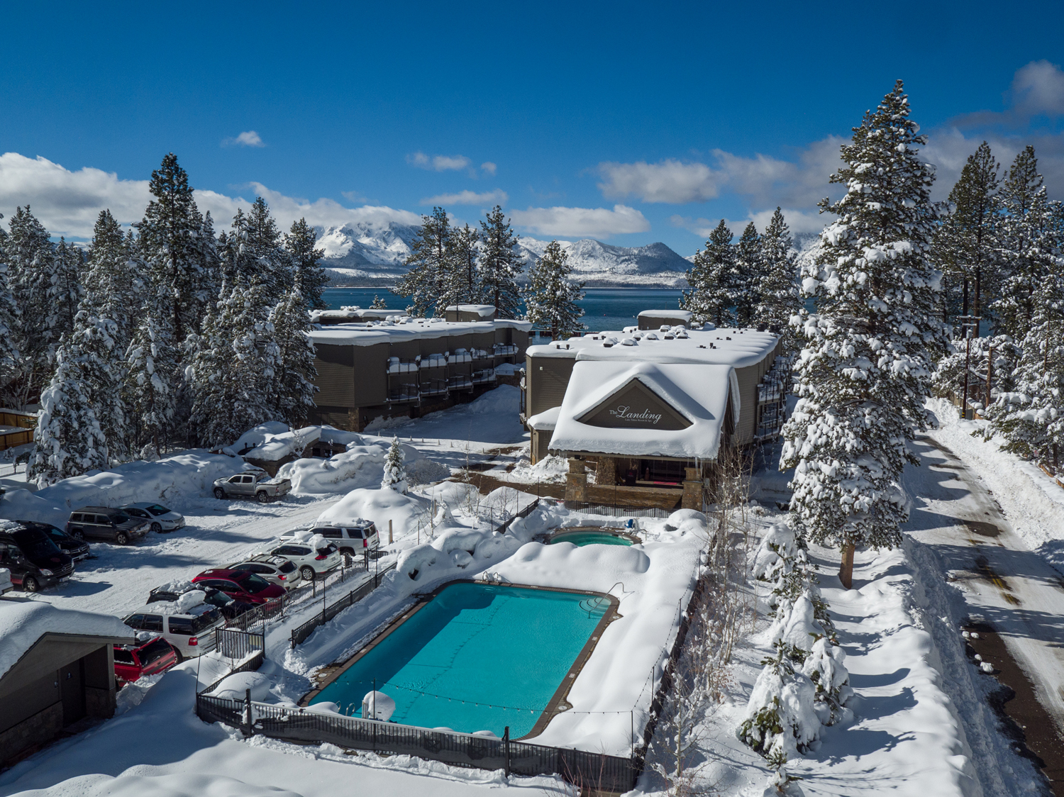 The Heavenly Gondola Offering Access To Mountain Resort S Remarkable Lake Tahoe Views And Varied Terrain Is Just Blocks From Landing Hotel Photo