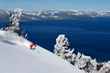The Heavenly gondola, offering access to the mountain resort's remarkable Lake Tahoe views and varied terrain, is just blocks from The Landing hotel, which offers complimentary transport and ski valet