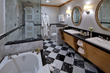 Oyster.com praises The Landing's marble bathrooms with plush robes, heated floors, waterfall showers and heated and lighted toilet seats, features that helped earn its best luxury hotel ranking.