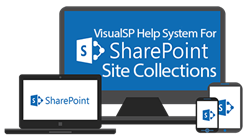 VisualSP Help System for SharePoint Site Collections