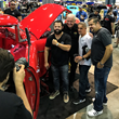 Barry Meguiar of Car Crazy with Carlos Marcelin and Elite Autoworks Crew