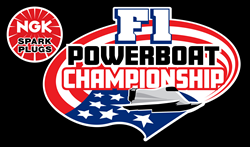 NGK F1 Spark Plugs Powerboat Championship Official Logo