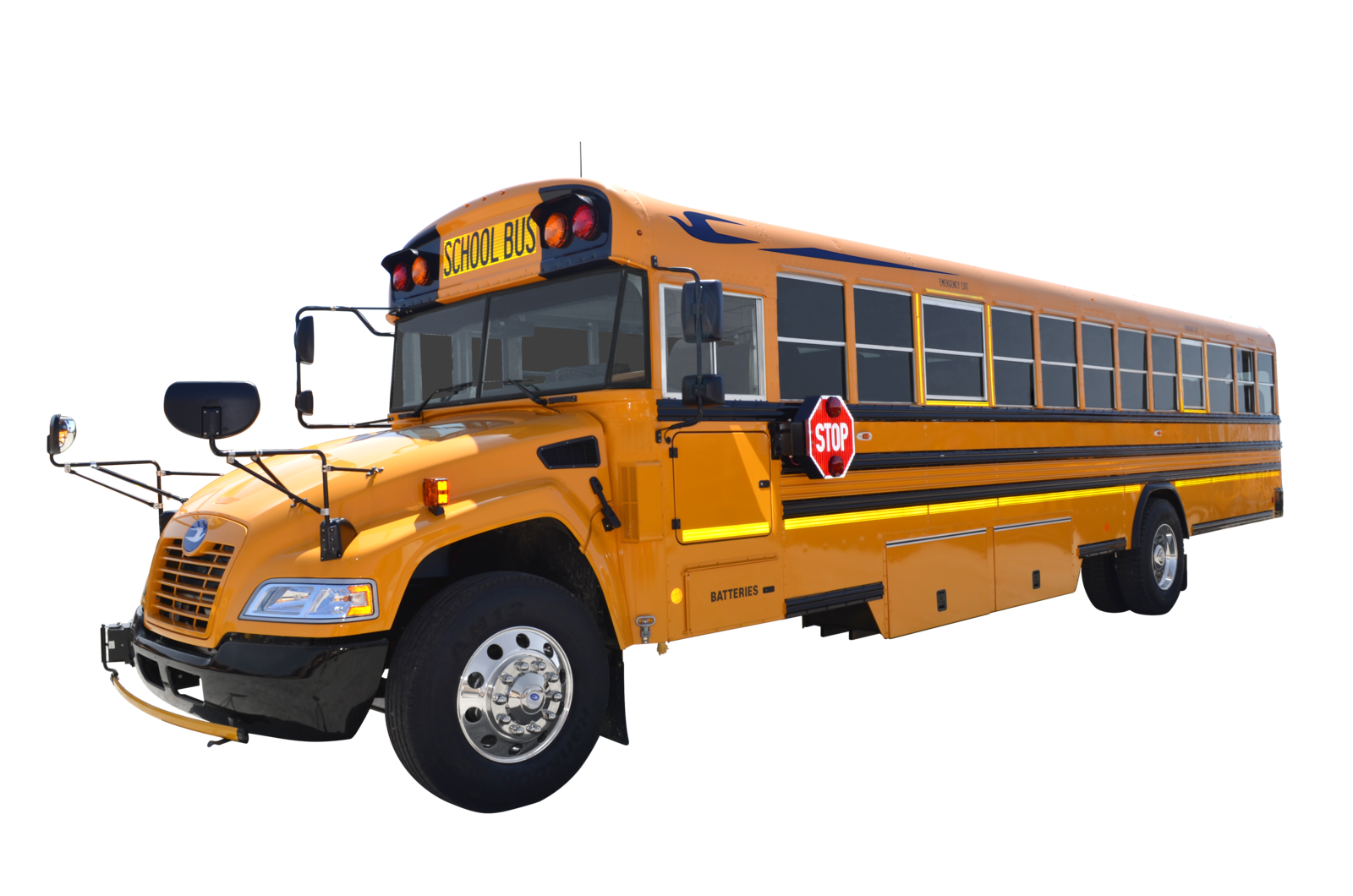 Blue Bird Vision Gasoline School Bus Receives Full Epa And Carb