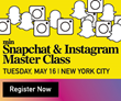 min Announces Master Class on Snapchat & Instagram for Publishers; To Be Held On May 16 in NYC