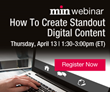 min Webinar For Editors Will Explore How To Create Standout Digital Content