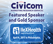 Gold Sponsor Civicom Speaks on Top Market Research Trends at IIeX Health 2017