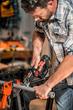 WORX 20V Axis Reciprocating & Jig Saw cutting PVC