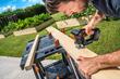 WORX 20V Axis Reciprocating & Jig Saw cutting board