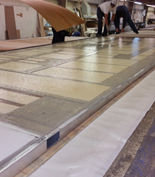 Chemique Adhesives' Solfre1 Used to Bond Laminated Panels