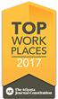 Atlanta Journal-Constitution Names OxBlue a Winner of the Atlanta Metro Area 2017 Top Workplaces Award