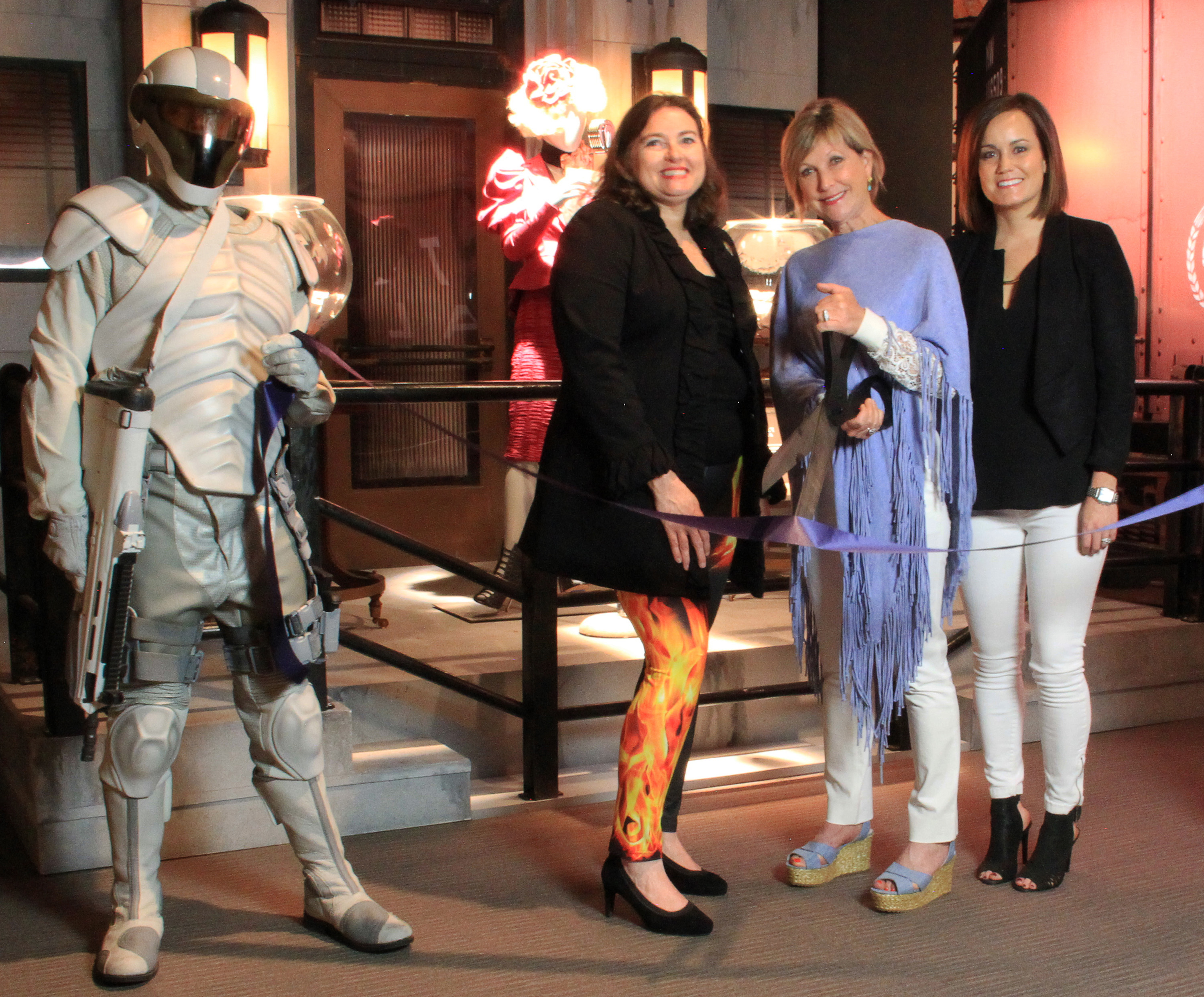 The Hunger Games The Exhibition Opens At Frazier