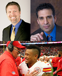 Derek Clark, Dr. Kenneth Ginsburg and Albert Wilson are among KVC Health Systems' special guests