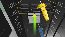 Virtual Reality Data Center Rack - Axonom
