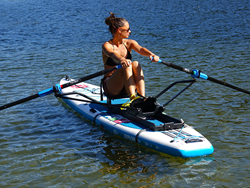 SUP, rower, exercise, Oar Board®, sculling, paddboard, watersports, fitness