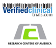Research Centers of America Adopts Verified Clinical Trials Biometrics Research Subject Database Registry to Prevent Duplicate Enrollment in Clinical Trials