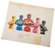 Mighty Morphin' Power Rangers - Original Packaging Artwork
