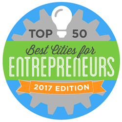 Top 50 Best Cities for Entrepreneurs