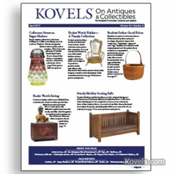 kovels, antiques, collectibles, stickley, cast iron banks, sugar shaker, pocket watch, mexico
