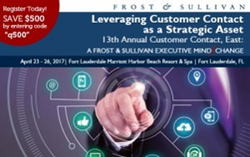 Qualfon Facilitates Session at Frost & Sullivan Event