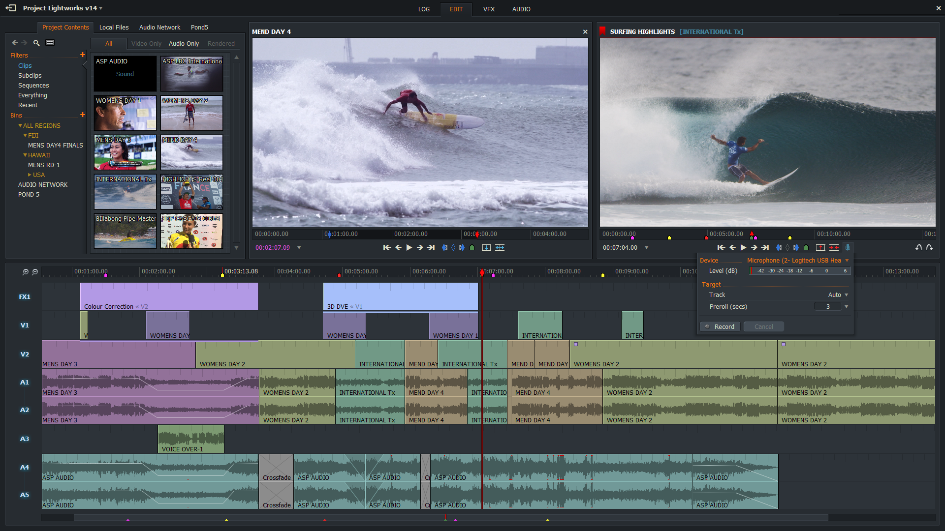 EditShare Unveils New Look Lightworks Video Editor