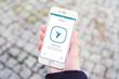 The Revolar App Homescreen