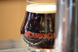 Crimson Cup Nitro cold brew coffee