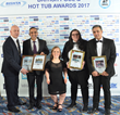 BISHTA Winners - Hot Tub Suppliers presented with their award by Ellie Simmonds OBE