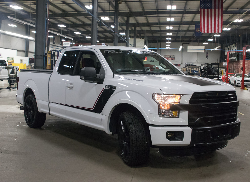 roush now building the world s fastest production truck the 2017 roush f 150 nitemare. Black Bedroom Furniture Sets. Home Design Ideas