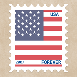 picture of U.S. Post Office Forever stamp