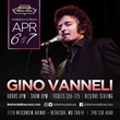 Bethesda Blues & Jazz Supper Club will present GRAMMY-Award Winner Gino Vannello April 6th & 7th