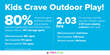 Kids Crave Outdoor Play!