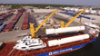 VIDEO: New Massive LNG Storage Tanks Arrive for Crowley's Jacksonville Bunkering Facility