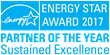ENERGY STAR Partner of the Year 2017 - Sustained Excellence