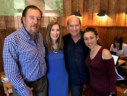 L to R: ASA Matt Asner, AGA Liz H Kelly, AGA Founder David M Luber, Autism Advocate Dani Bowman