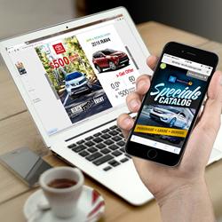 automotive dealership Dynalog digital catalog