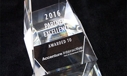 The award recognized Accenture Interactive in helping customers design and deliver consistent and seamless digital commerce experiences, utilizing Elastic Path® Commerce.