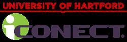 U of Hartford and iCONECT logos